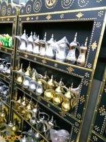 خزانه لحفظ أباريق القهوة حجم 1.1*2 متر صناعة سعودية