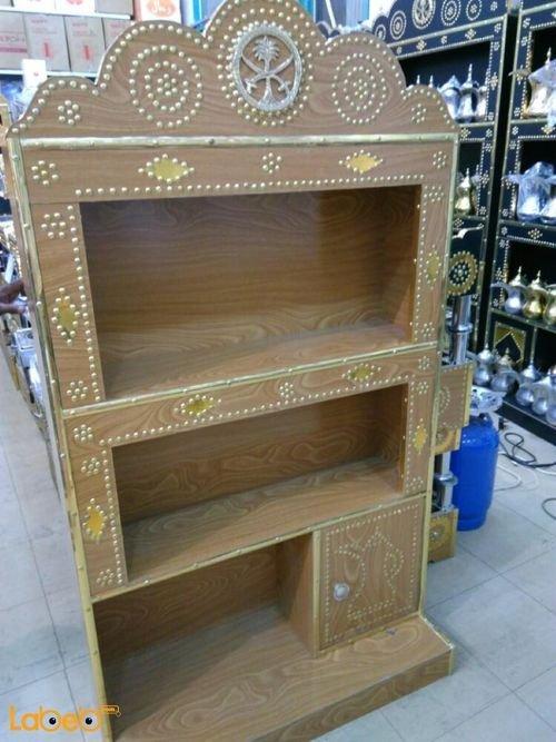 خزانه لحفظ أباريق القهوة 145*80 سم صناعة سعودية