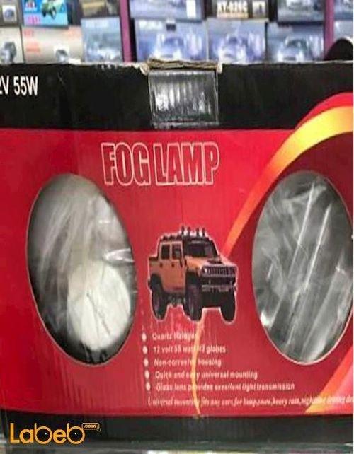 مصباح ضباب امامي FOG LAMP قدرة 55 واط الطاقة 12 فولت