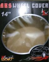 VINJET Wheel Cover 4 pieces 14inch Silver WJ_5047_C14