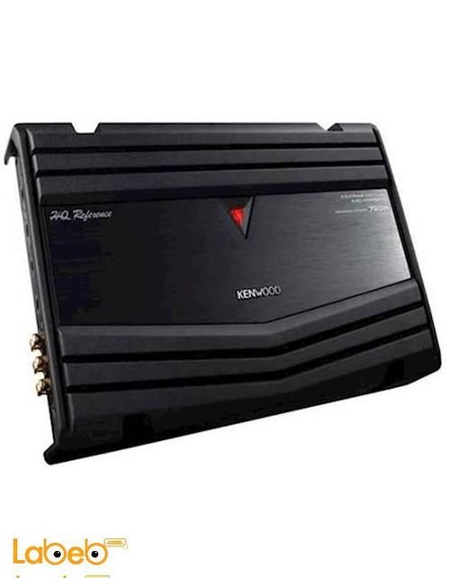 Kenwood 4/3/2 channel power Car Amplifier 720W Black KAC-HQR8400