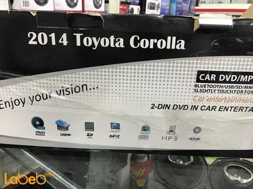 Black Touch Screen Car USB port Bluetooth 2014 Toyota Corolla