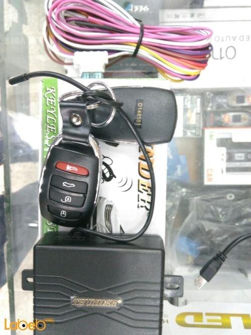 جهاز إانذار سيارة THUNDER قفل الكتروني 12 فولت اسود موديل C119