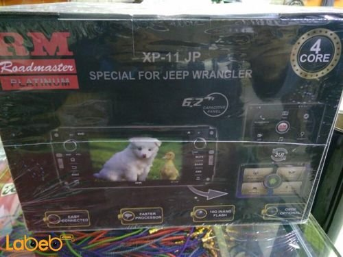 شاشة سيارة Roadmaster XP-11 JP حجم 6.2 انش JEEP WRANGLER