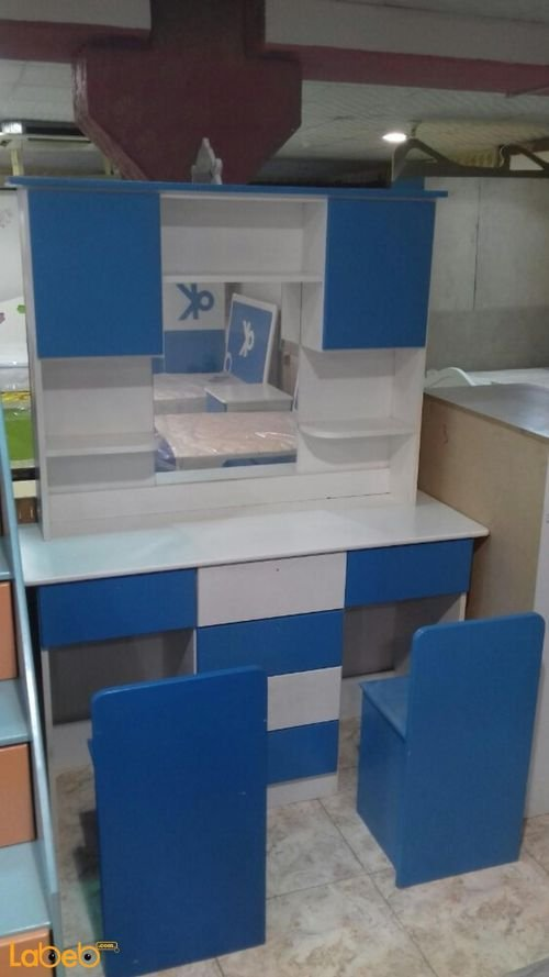 Boys bedroom 8 pieces Malaysian wood Blue & white color