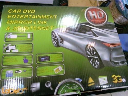 Toyota dvd entertainment mirror link & 3G internet resolution 800x480