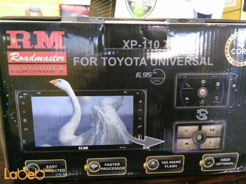 شاشة اندرويد لسيارة تويوتا roadmaster حجم 6.95 انش XP110 TU