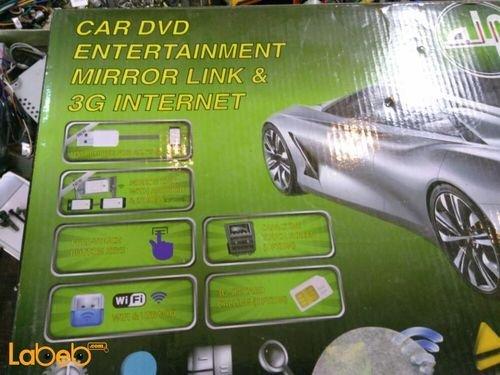 Car dvd entertainment mirror link & 3G internet 800x480p