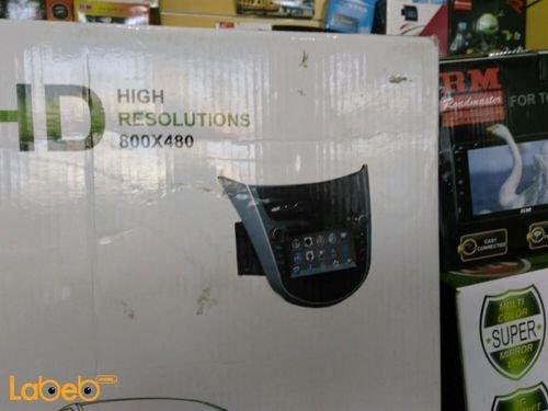 شاشة سيارات DVD دقة 800*480 بكسل واي فاي 3 جي