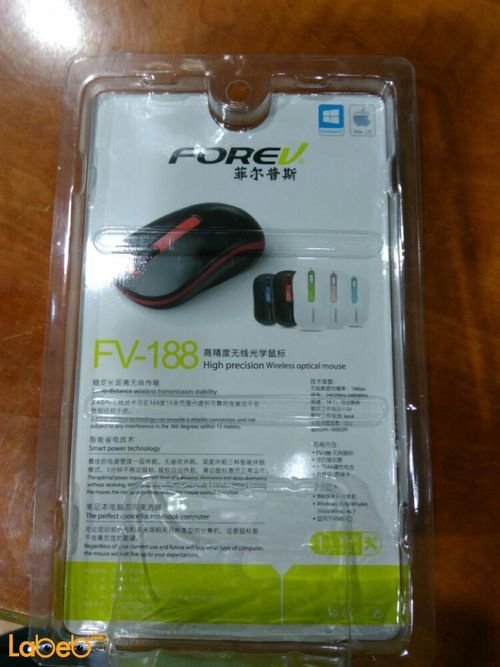 Forev Wireless Mouse White Color FV_188