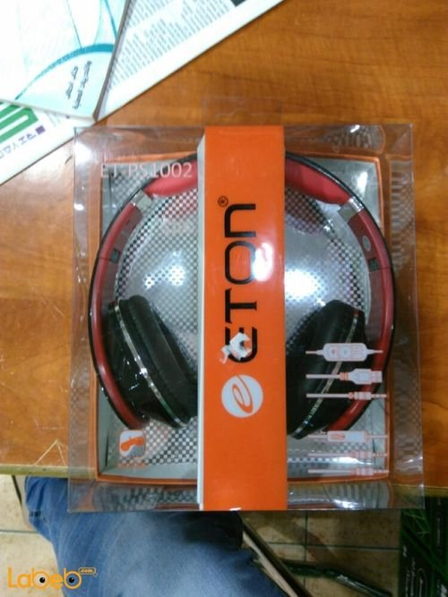 ETON Headphones black colour ET_PS1002 Model