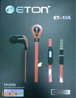 ETON Headset Red Color Universal ET_13A model