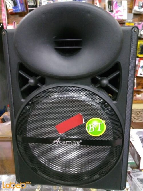 Acemax trolley speaker USB/AUX Port Black color AM_201