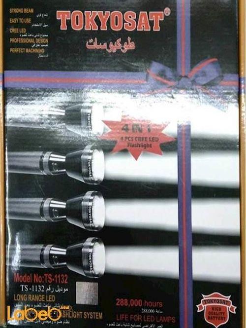 مصباح ثنائي باعث الضوء يدوي LED طوكيوسات 288000 ساعة TS-1132