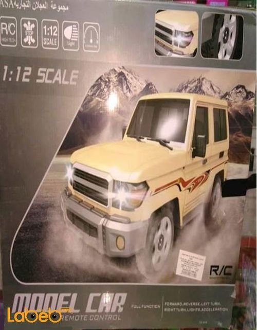 Model car Jeep 2016 Remote control Brown color 5512_12 model