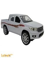Model car Hilux Double Cab pickup White Remote control