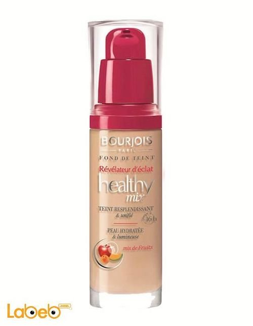Bourjois Healthy Mix Foundation fruit therapy 16h shining