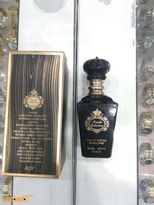 Private collection perfume French 100ml capacity Black color