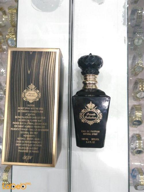 عطر رجالي Private collection فرنسي 100 مل لون العلبة اسود