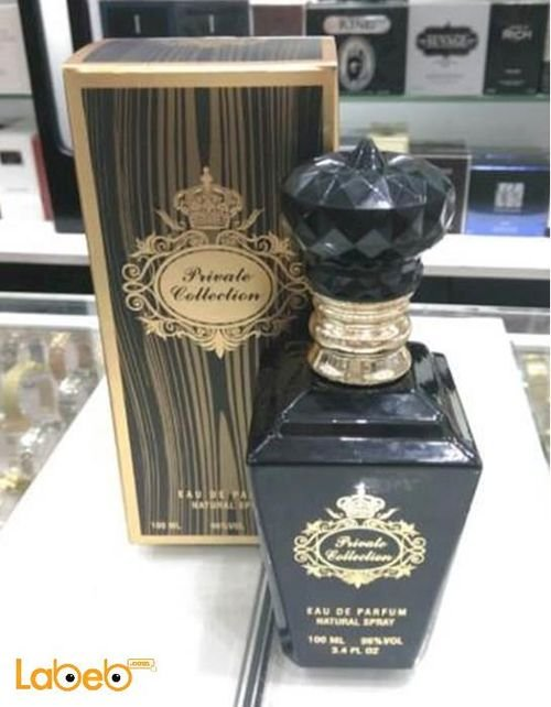 Private collection perfume French 100ml Black