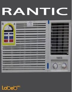 RANTIC Window Air Conditioner - 1.5Ton - Cold hot - HAOM18H