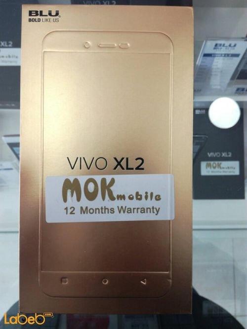 موبايل Blu Vivo xl2 ذاكرة 32 جيجابايت 5.5 انش ذهبي