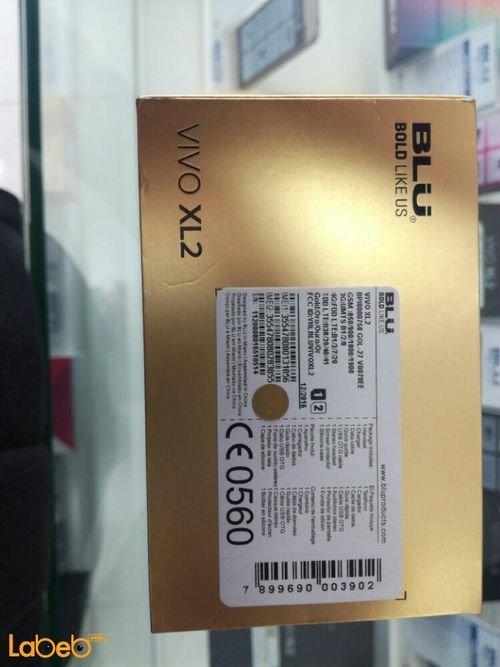 Blu Vivo xl2 لون ذهبي ذاكرة 32 جيجابايت 5.5 انش