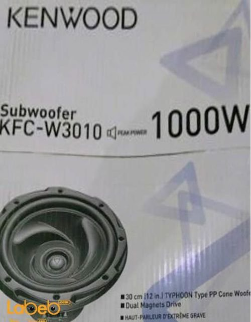 KENWOOD Car Sibwoofer 1000Watt KFC-W3013 model