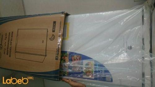 ثلاجة مكتب دانسات 3.1 قدم باب واحد لون أبيض DFS140M