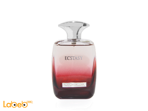 Parfum deluxe Ecstasy perfume for women 100 ml Red color