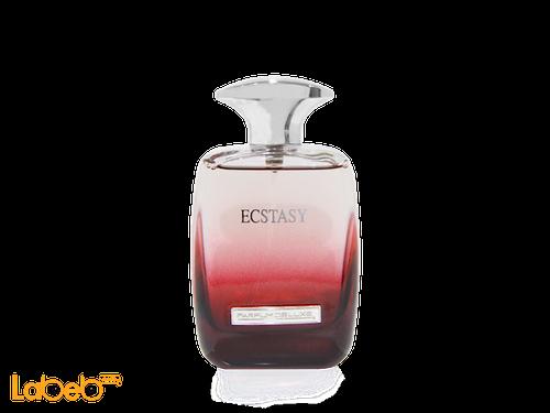 عطر Parfum deluxe Ecstasy مناسب للنساء 100 مل لون احمر