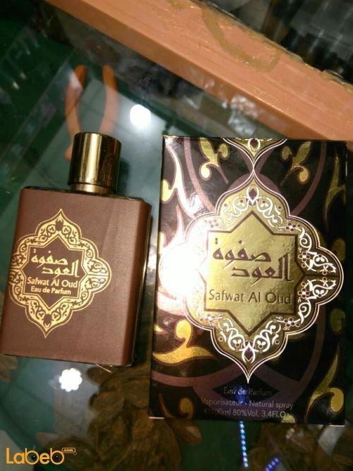 عطر صفوة العود للرجال اماراتي 100مل أسود Safwat AlOud