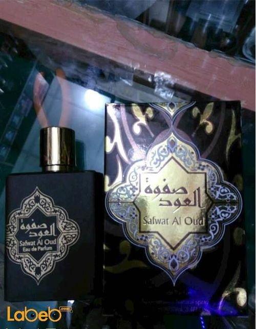 عطر صفوة العود مناسب للرجال اماراتي 100مل أسود Safwat AlOud