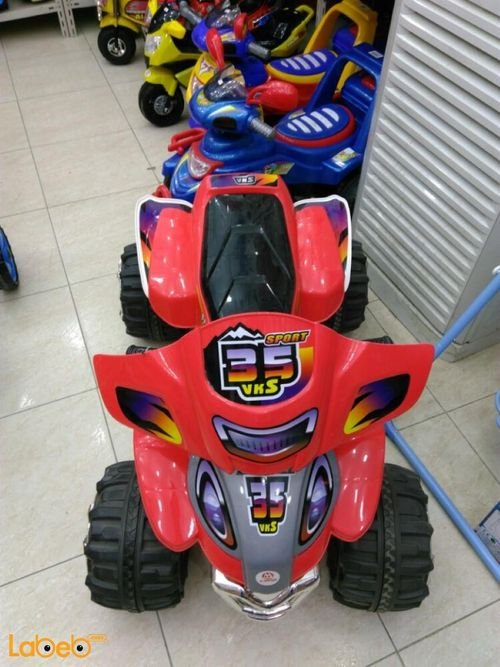 SPORT 35 VKS Quad bikes 4-5Km/h Red SF125_XSPORT
