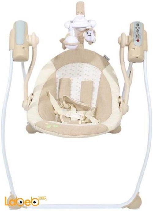 أرجوحة أطفال ماما لوف وزن حتى 25 كغم لون بيج NA81
