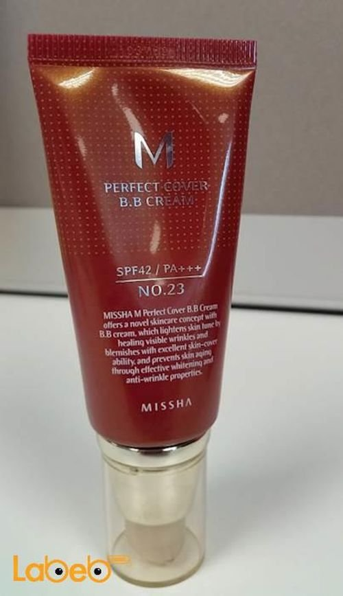 Missha Perfect Cover B.B. Cream 23 nom Natural beige