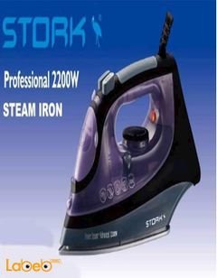 STORK Steam&Dry Iron - 2200W - Ceramic Coating Soleplate - SI-ST655
