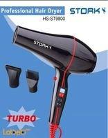 STORK Professional Hair Dryer 2000W Black Colour HS-ST9800 Model