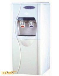 كولر ماء جامبو مع فلتر من STORK حنفيتين لون أبيض موديل WD-ST266
