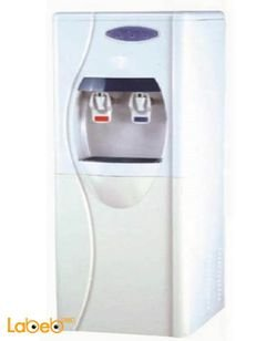 STORK Jumbo Water Cooler With Filter - 2 Taps - White - WD-ST266 Model