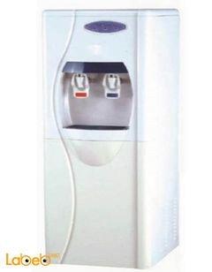 كولر ماء جامبو مع فلتر من STORK - حنفيتين - لون أبيض - موديل WD-ST266