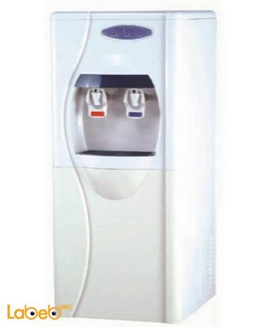 STORK Jumbo Water Cooler With Filter 2 Taps White WD-ST266 Model