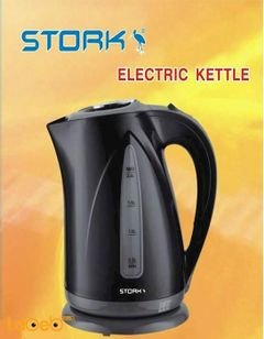 STORK Kettle - 2000Watt - 2 Liter capacity - Black - EK_ST6000 Model