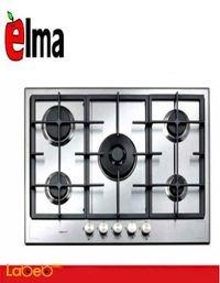 طباخ غاز تركي ELMA خمس عيون 90 سم ستانليس ستيل موديل ELM-HD911