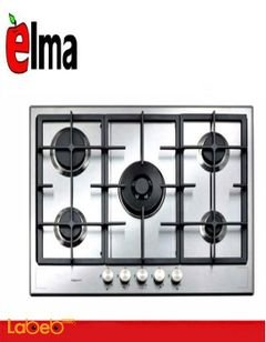 طباخ غاز ELMA - خمس عيون - 90 سم - ستانليس ستيل - موديل ELM-HD911