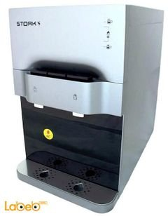 STORK Table Water Cooler With Filter - silver colour - WD-ST299 Model