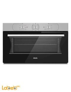 ODUL Turkish Built In Gas Oven - 90 cm - Black Colour - OAF-9104 Model