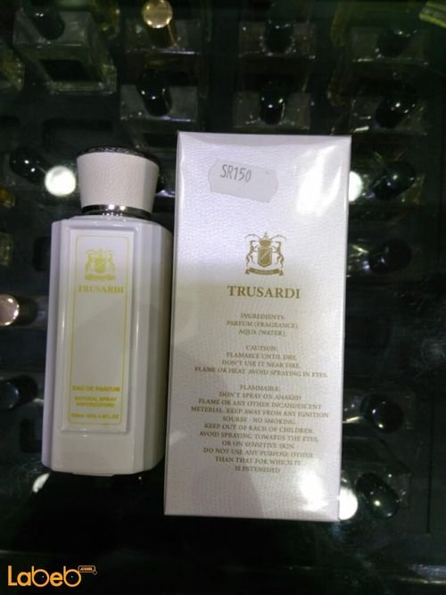 Trusadi perfume for women 100ml Concentration 85% White