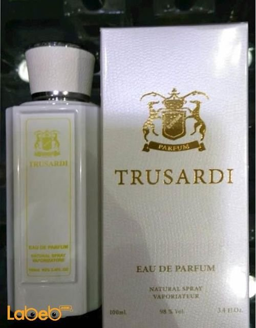 Trusadi perfume for women 100ml Concentration 85% White color