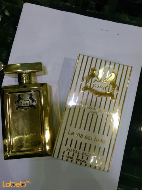 La Via est belle 1743 perfume Suitable for women 100ml Gold French